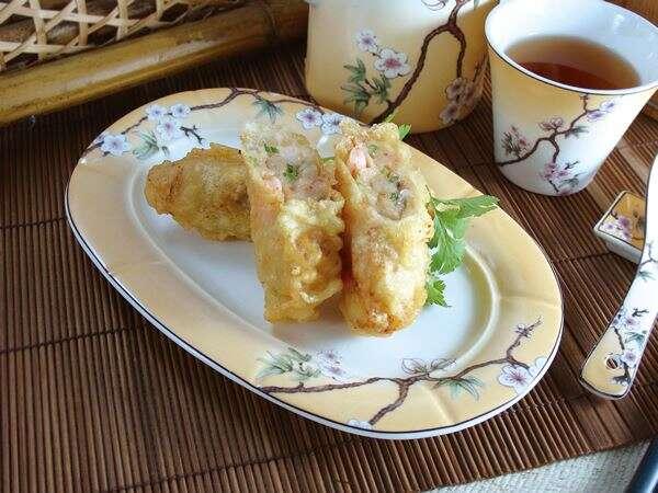 東東安平鮮蝦卷-東東粵菜