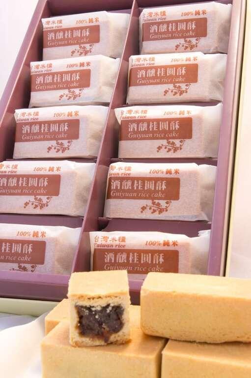 蓮圃園100%純米桂圓酥-蓮圃園農產加工所