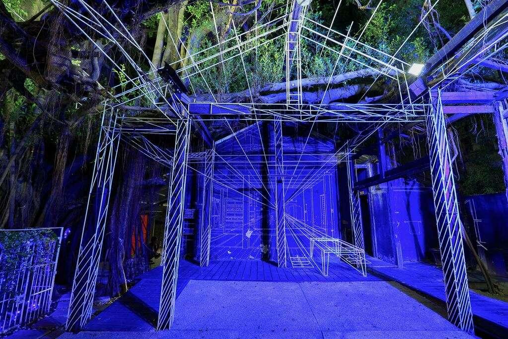 藍晒圖文創園區為台南新興藝文特區