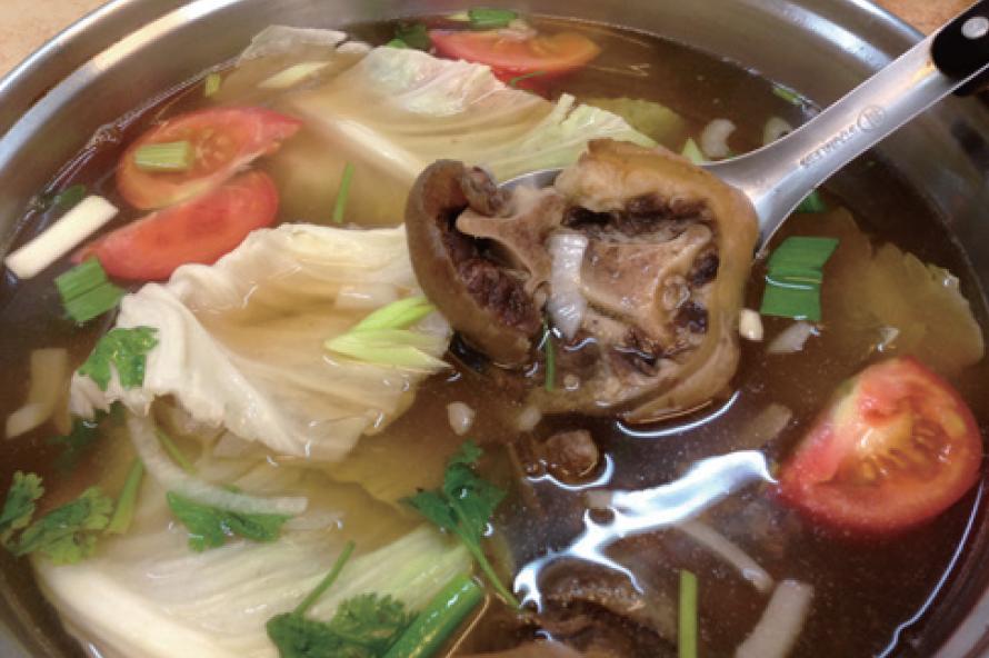 阿裕牛肉湯