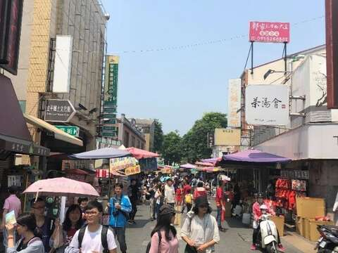 The entrance of Anping Old Street