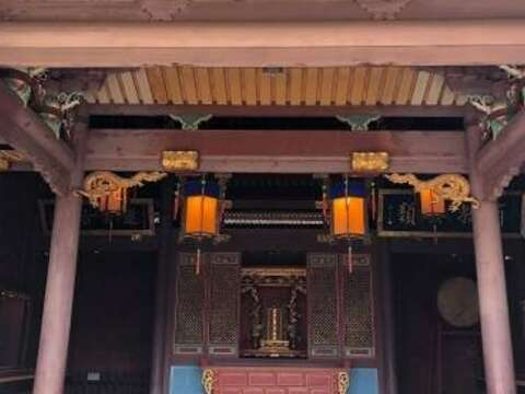 The main hall of the Confucius temple