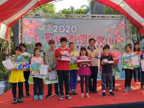 2020虎頭埤元旦「畫畫野餐聽民歌」百年勝景耀新化(畫)-兒童寫生比賽活動