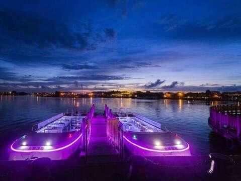 台南運河遊船