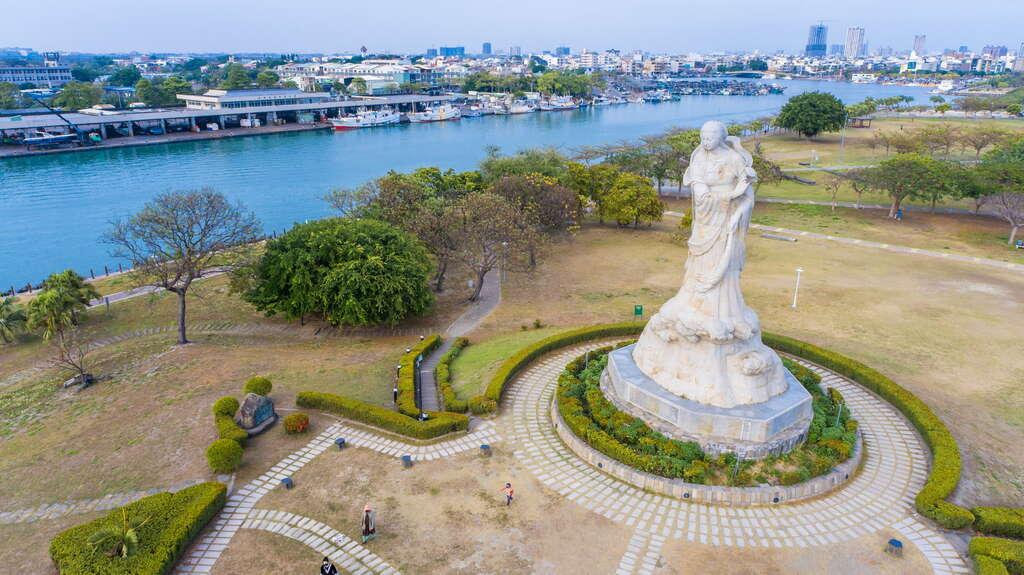 林默娘的塑像