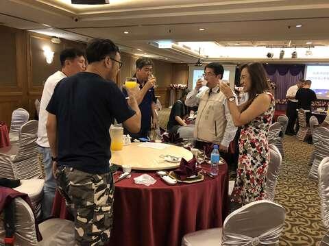 黃偉哲市長向媒體感謝宣傳行銷臺南2