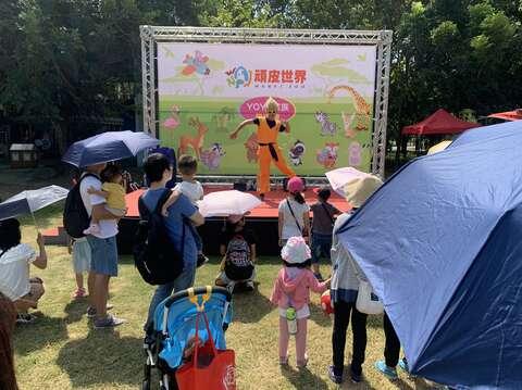 國慶連假-頑皮世界野生動物園舉辦國慶活動