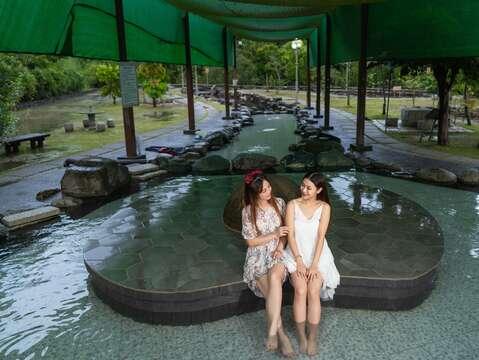 楠西-龜丹溫泉(泡腳池)