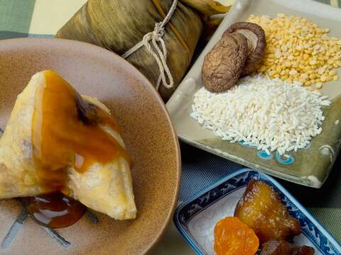 楊哥楊嫂肉粽之綠豆肉粽