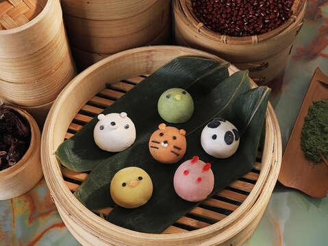 台南晶英主廚設計創意甜粽「粽夏動物園」,秒殺少女的心