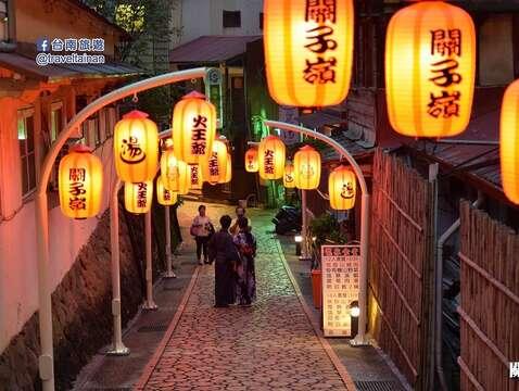 白河區_關子嶺老街燈飾