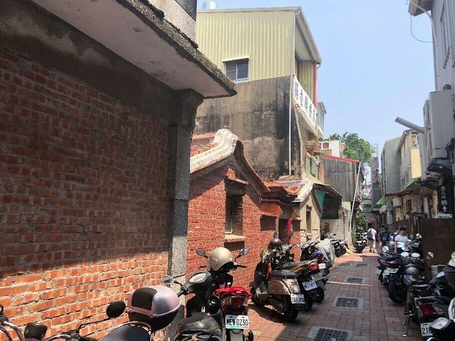 The alleys around the Anping Old Street