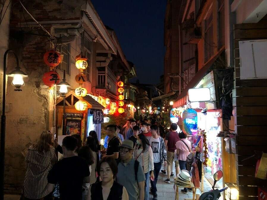 The view of Shengnong Street (1)